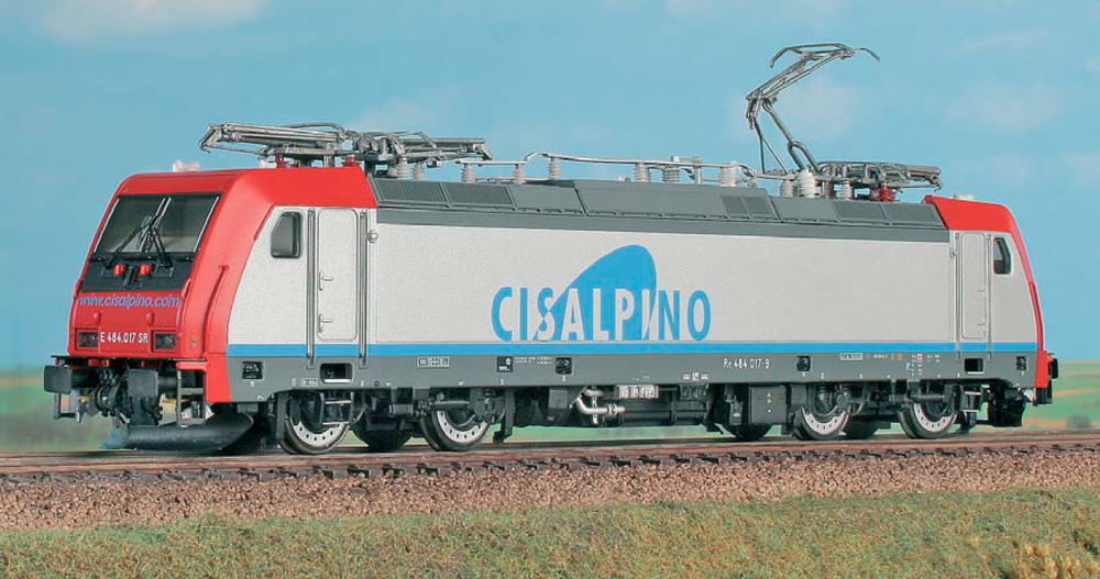 Cisalpino - Re 484 017 electric locomotive