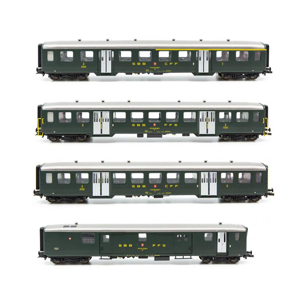SBB CFF FFS - Lightweight passenger coaches set