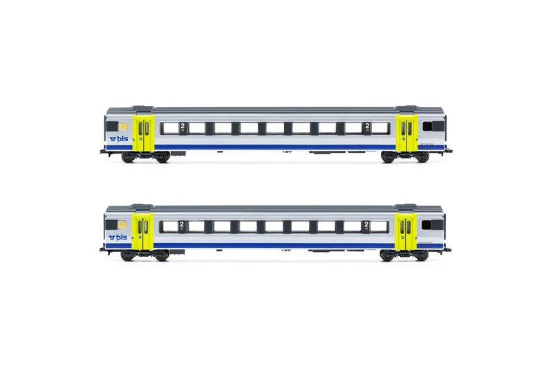 BLS - EW III passenger coaches set