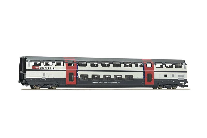 SBB CFF FFS - B 26-94 (IC2000) 2nd class double deck coach