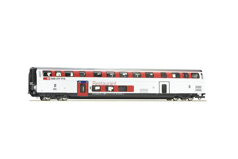 SBB CFF FFS - WRB 88-94 (IC2020) double deck dining coach