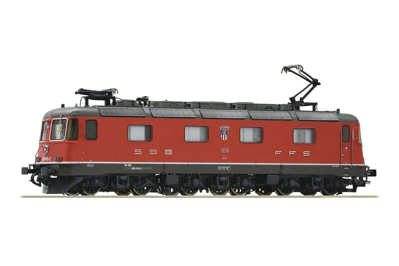 SBB CFF FFS - Re 620 018-2 electric locomotive