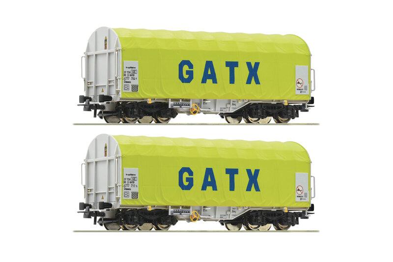 GATX - 2x Shimmns-ttu freight wagons