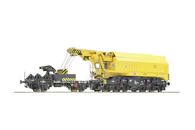 DB - EDK 750 railway crane