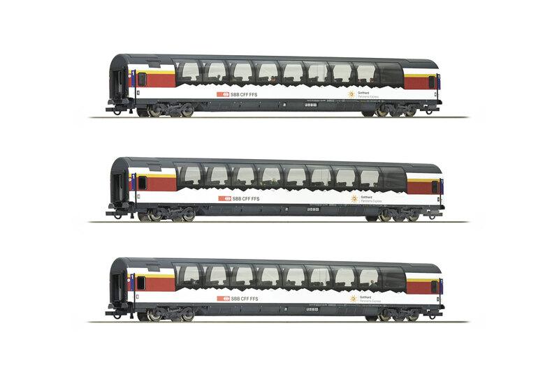 SBB CFF FFS - Gotthard-Panorama Express set