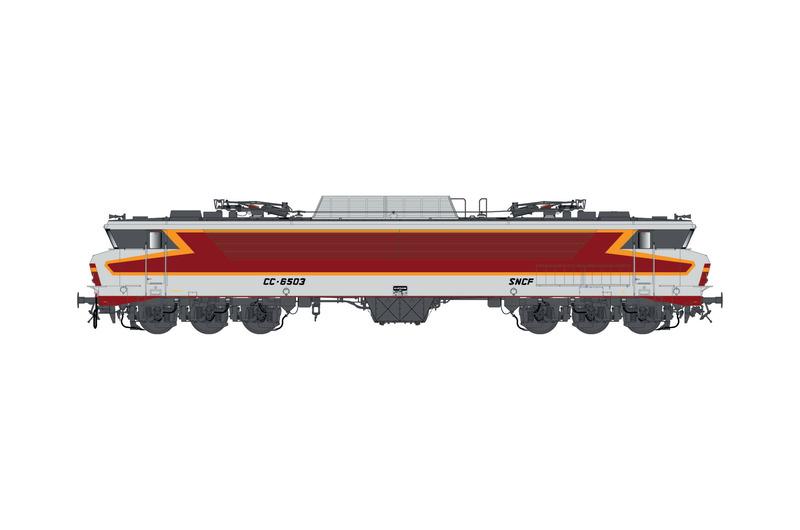 SNCF - CC 6503 electric locomotive