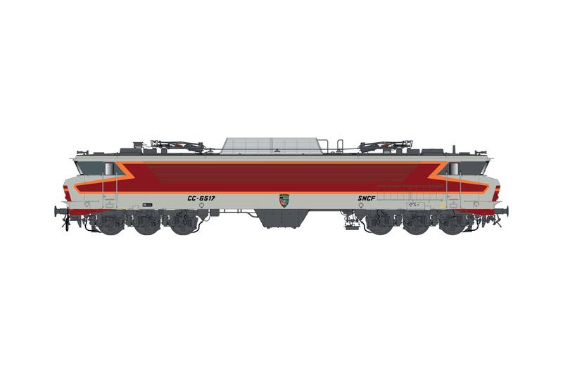 SNCF - CC 6517 electric locomotive
