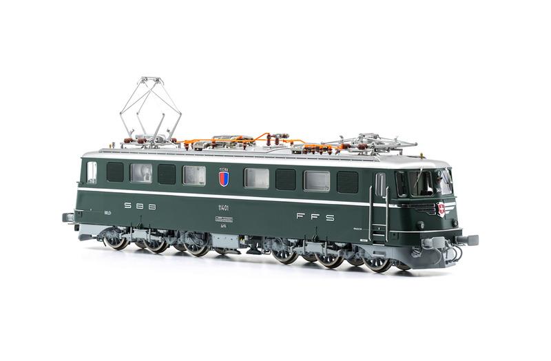 SBB CFF FFS - Ae 6/6 11401 TICINO electric locomotive
