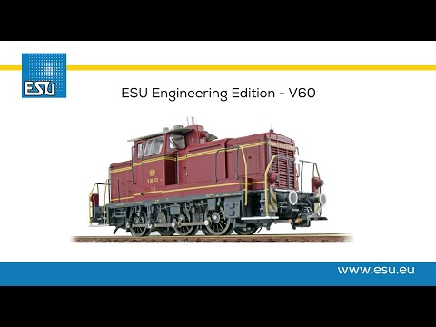 Video: ESU Engineering Edition - DB V60 Diesel locomotive