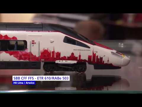 Video: Lima SBB RABe 503 & Rivarossi BLS Re 4/4