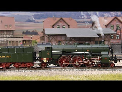 Video: Märklin 39436 - Class S 3/6 Steam Locomotive, the
