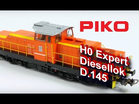 Video: Piko - D.145 diesel locomotive (FS)