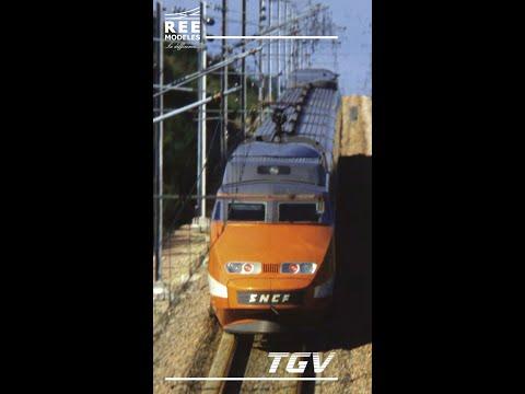 Video: REE MODELES - TGV PSE (SNCF) prototype