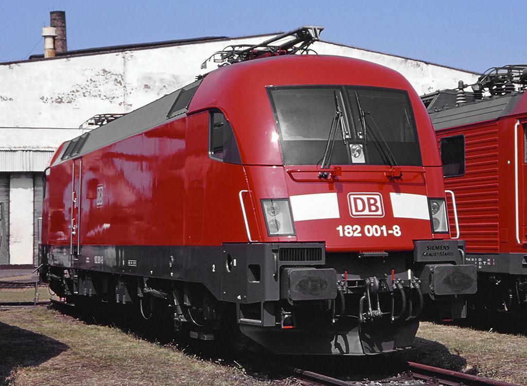 DB 182 001 in Dresden