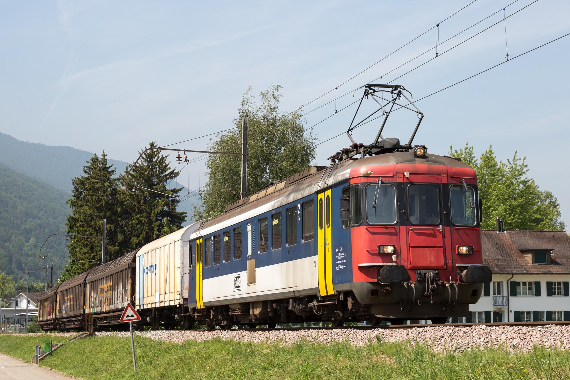 OeBB RBe 4/4 206 (ex SBB RBe 540 074)