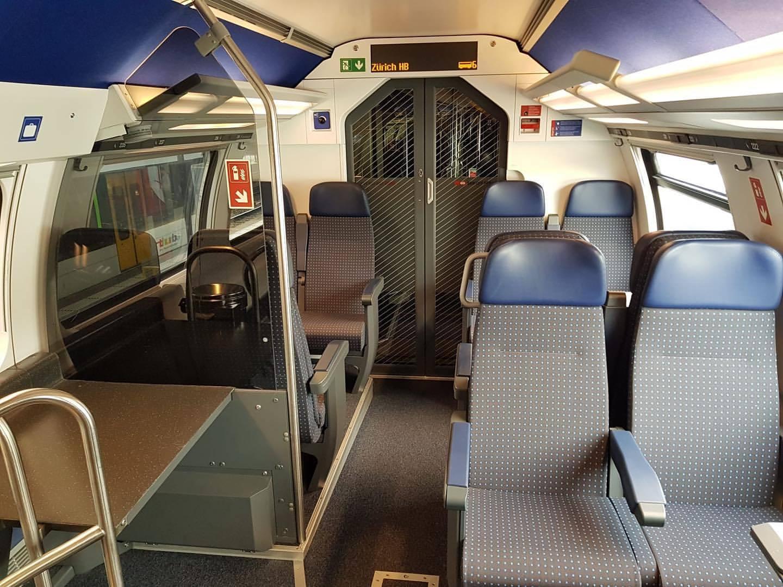 SBB CFF FFS - IC2020 2nd class double deck coach