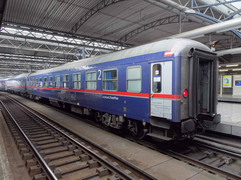 Wien / Innsbruck - Brussels Nighjet service