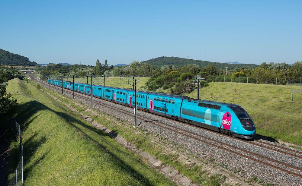 TGV Dasye Ouigo<sup></sup><sub></sub>