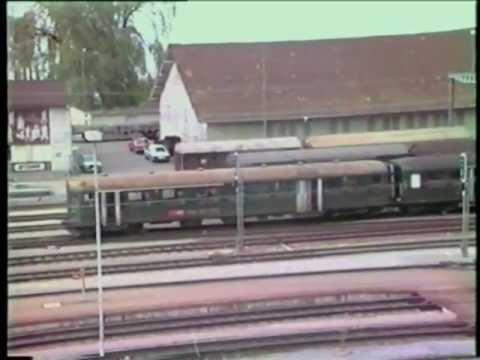 Video: SBB Re 4/4 I, BDe 4/4 & RBe 4/4 in 1990
