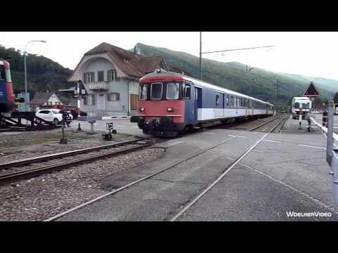 Video: Oensingen-Balsthal-Bahn (OeBB)
