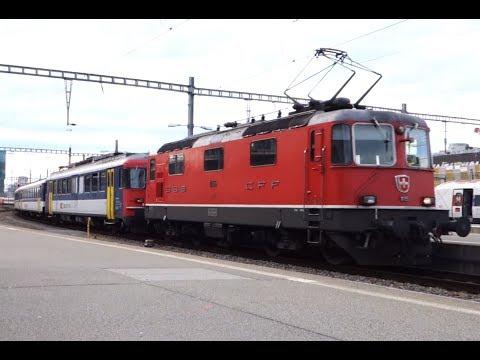 Video: Rbe 540 & Re 4/4 II