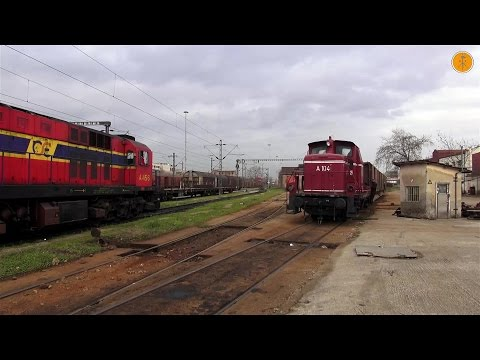 Video: Morning Rail Works at Thessaloniki Freight Station