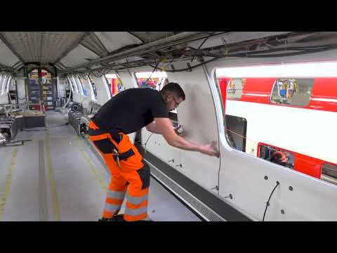 Video: Investments for CHF 300 million: SBB is modernising its IC2000 two-level cars