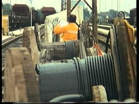 Video: Nuremberg shunting yard in 1988