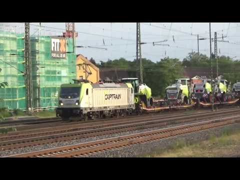 Video: Captrain Class 187 electric locomotive