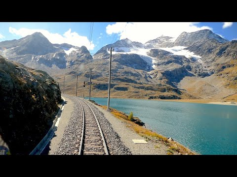 Video: St. Moritz - Tirano (Bernina pass)