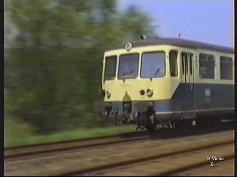 Video: DB BR 515 electric railcar